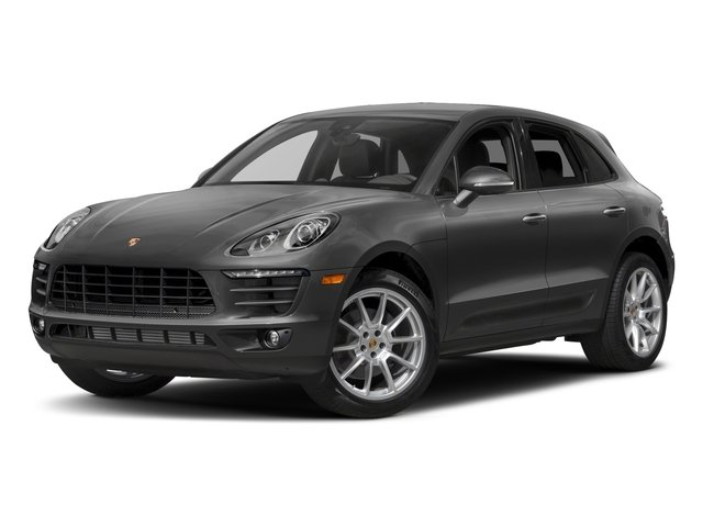 2018 Porsche Macan Pictures Macan AWD photos side front view