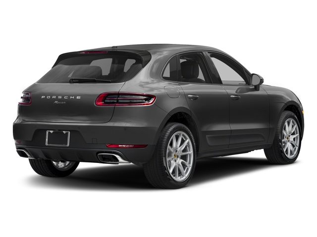2018 Porsche Macan Base Price AWD Pricing side rear view