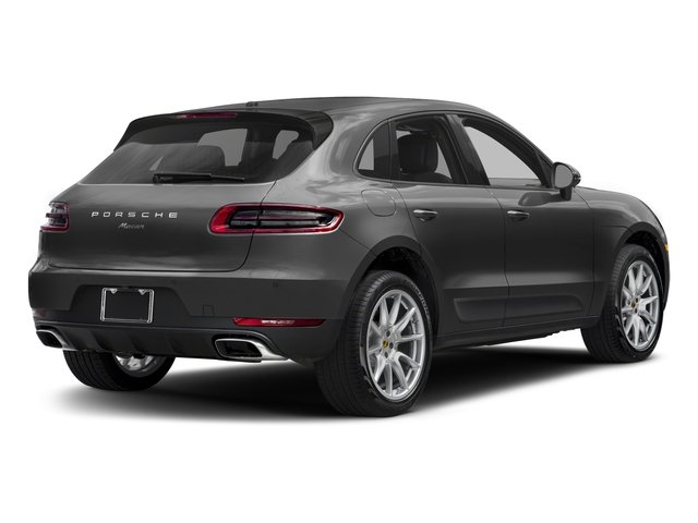 2018 Porsche Macan Pictures Macan AWD photos side rear view