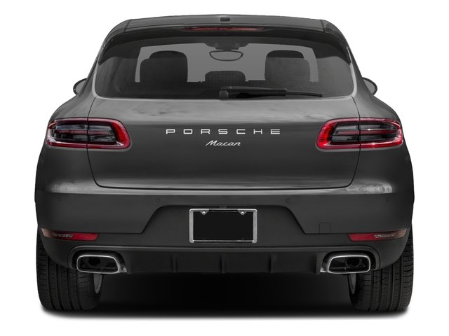 2018 Porsche Macan Pictures Macan AWD photos rear view