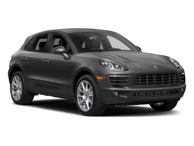 2018 Porsche Macan Prices and Values Utility 4D AWD I4 Turbo side front view
