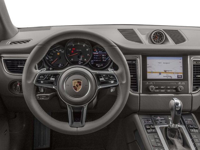 2018 Porsche Macan Base Price AWD Pricing driver's dashboard