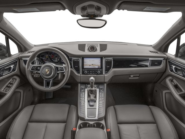 2018 Porsche Macan Pictures Macan AWD photos full dashboard