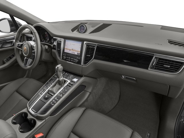2018 Porsche Macan Base Price AWD Pricing passenger's dashboard
