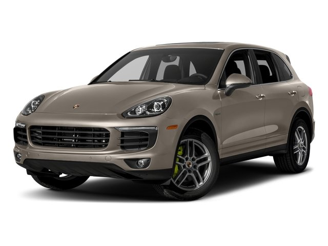2018 Porsche Cayenne Pictures Cayenne S E-Hybrid AWD photos side front view
