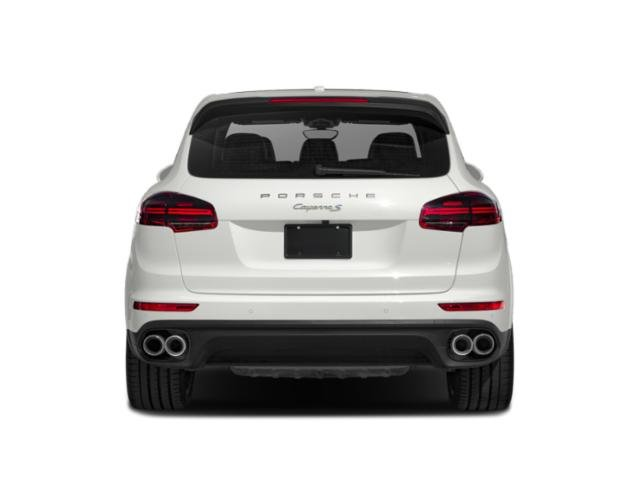 2018 Porsche Cayenne Pictures Cayenne S E-Hybrid AWD photos rear view