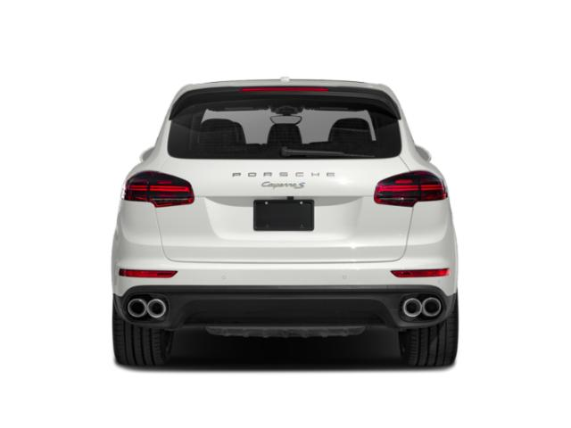 2018 Porsche Cayenne Pictures Cayenne S Platinum Edition E-Hybrid AWD photos rear view