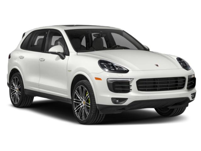 2018 Porsche Cayenne Prices and Values Util 4D S e-Hybrid Platinum AWD V6 side front view