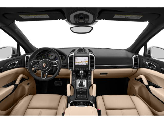 2018 Porsche Cayenne Pictures Cayenne S Platinum Edition E-Hybrid AWD photos full dashboard