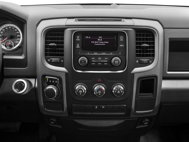 2018 Ram Truck 1500 Base Price Express 4x4 Crew Cab 5'7 Box Pricing stereo system