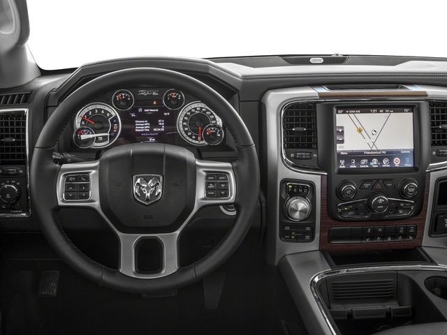 2018 Ram Truck 1500 Base Price Laramie 4x2 Crew Cab 5'7 Box Pricing driver's dashboard
