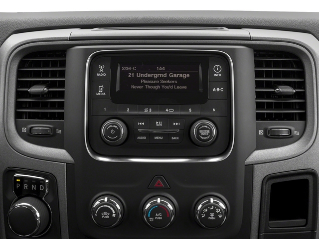 2018 Ram Truck 1500 Base Price Express 4x4 Quad Cab 6'4 Box Pricing stereo system