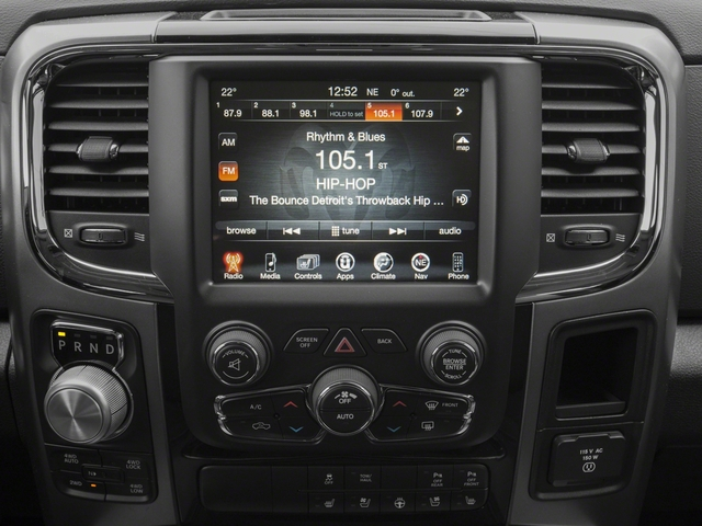 2018 Ram Truck 1500 Pictures 1500 Sport 4x4 Quad Cab 6'4 Box *Ltd Avail* photos stereo system