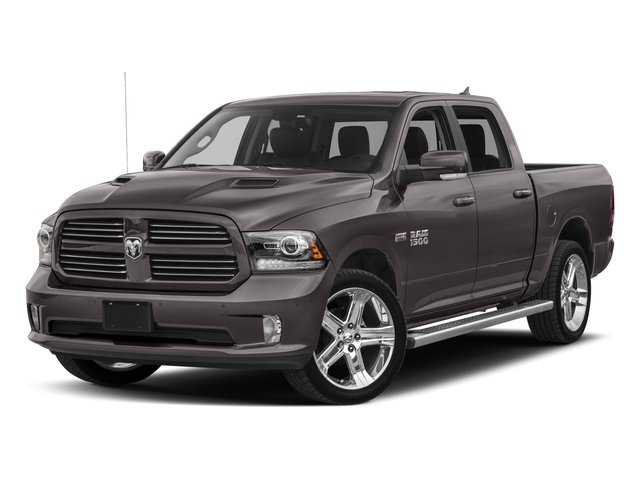 2018 Ram Truck 1500 Base Price Night 4x2 Crew Cab 5'7 Box *Ltd Avail* Pricing side front view