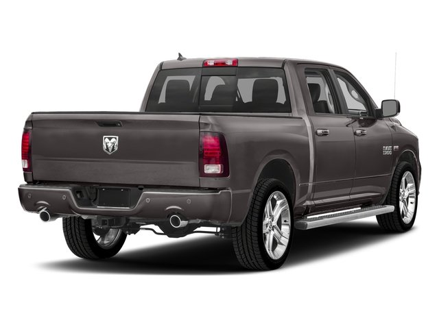 2018 Ram Truck 1500 Base Price Night 4x2 Crew Cab 5'7 Box *Ltd Avail* Pricing side rear view