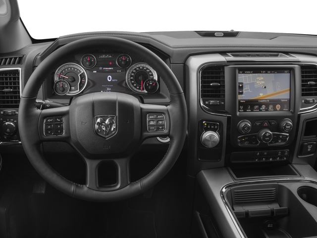 2018 Ram Truck 1500 Base Price Night 4x2 Crew Cab 5'7 Box *Ltd Avail* Pricing driver's dashboard