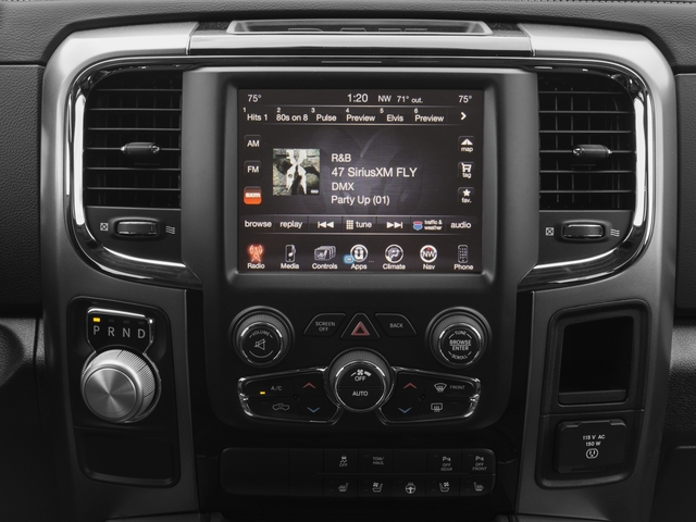 2018 Ram Truck 1500 Base Price Sport 4x2 Crew Cab 6'4 Box *Ltd Avail* Pricing stereo system