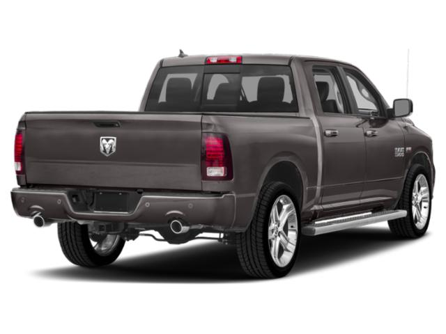 2018 Ram Truck 1500 Prices and Values Quad Cab Bighorn/Lone Star 4WD side rear view