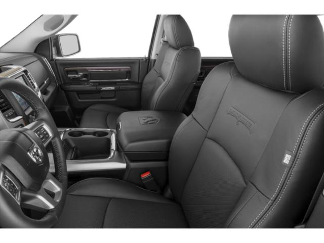 2018 Ram Truck 1500 Prices and Values Quad Cab Laramie 4WD front seat interior