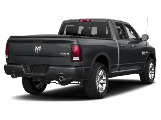 2018 Ram Truck 1500 Prices and Values Quad Cab Tradesman 2WD side rear view