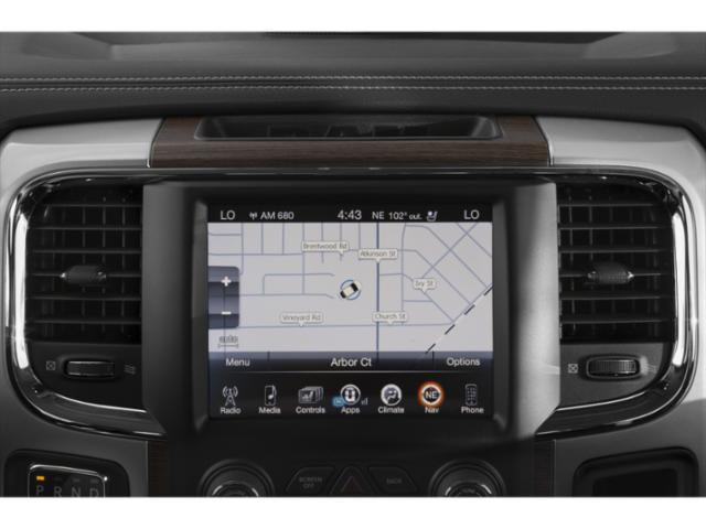 2018 Ram Truck 1500 Prices and Values Crew Cab Limited 2WD navigation system