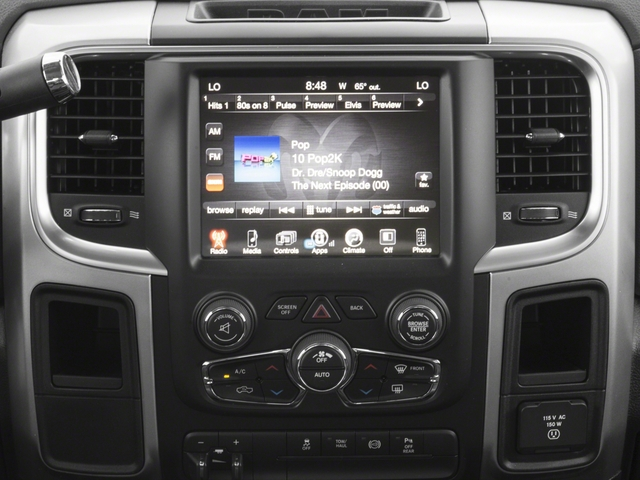 2018 Ram Truck 2500 Base Price Big Horn 4x4 Mega Cab 6'4 Box Pricing stereo system