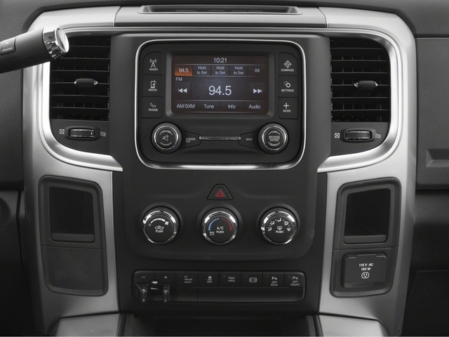 2018 Ram Truck 2500 Pictures 2500 Big Horn 4x2 Crew Cab 6'4 Box photos stereo system