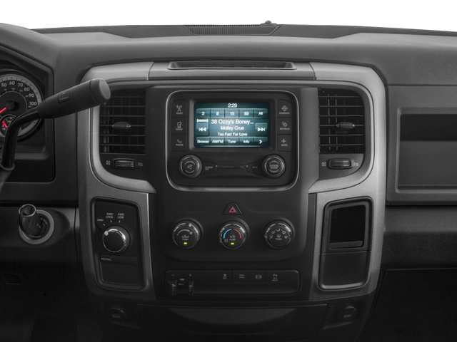 2018 Ram Truck 2500 Base Price Tradesman 4x4 Crew Cab 8' Box Pricing stereo system