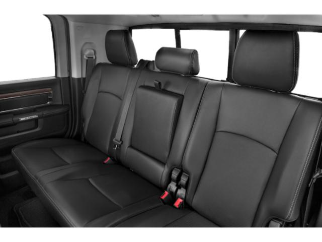 2018 Ram Truck 2500 Prices and Values Mega Cab Limited 4WD T-Diesel backseat interior