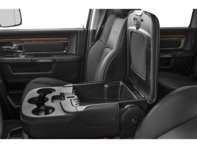 2018 Ram Truck 2500 Prices and Values Mega Cab Limited 4WD T-Diesel center storage console
