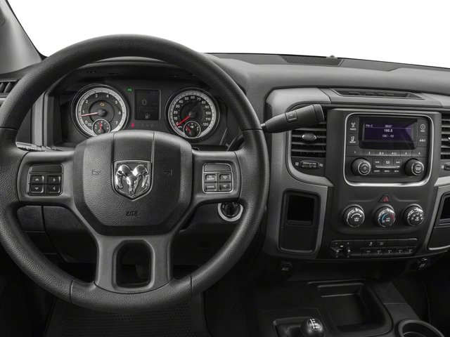 2018 Ram Truck 3500 Prices and Values Regular Cab Tradesman 4WD driver's dashboard