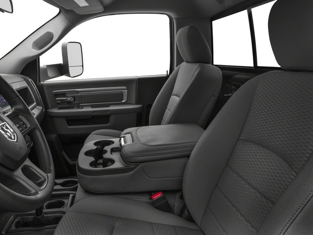 2018 Ram Truck 3500 Prices and Values Regular Cab SLT 2WD front seat interior