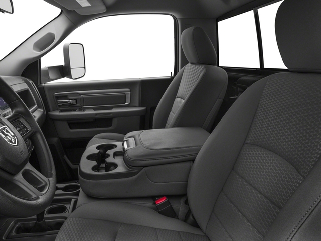 2018 Ram Truck 3500 Prices and Values Regular Cab Tradesman 4WD front seat interior