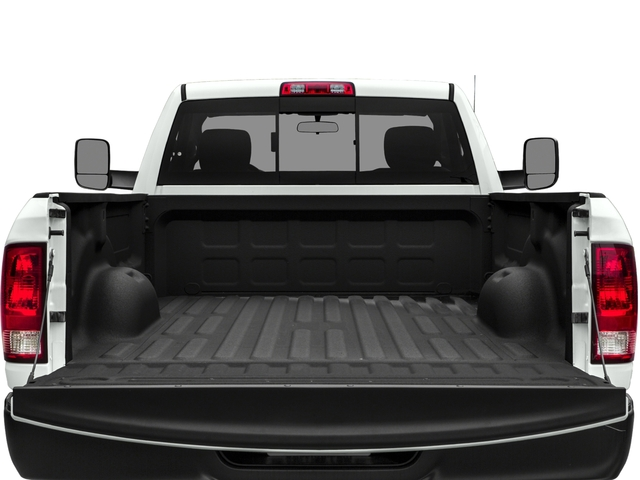 2018 Ram Truck 3500 Prices and Values Regular Cab SLT 2WD open trunk