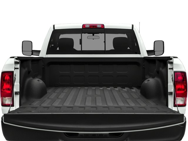 2018 Ram Truck 3500 Prices and Values Regular Cab Tradesman 4WD open trunk
