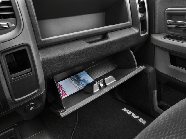 2018 Ram Truck 3500 Prices and Values Regular Cab Tradesman 4WD glove box