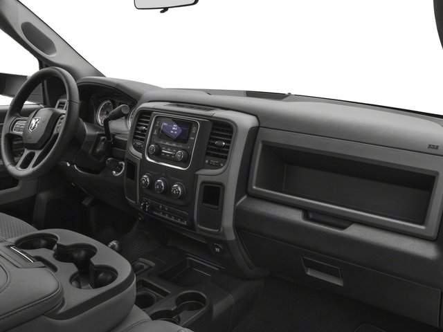 2018 Ram Truck 3500 Prices and Values Regular Cab SLT 2WD passenger's dashboard