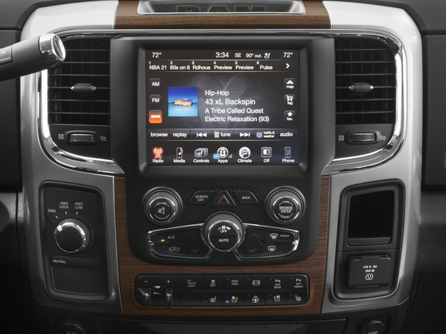 2018 Ram Truck 3500 Pictures 3500 Limited 4x2 Crew Cab 6'4 Box photos stereo system