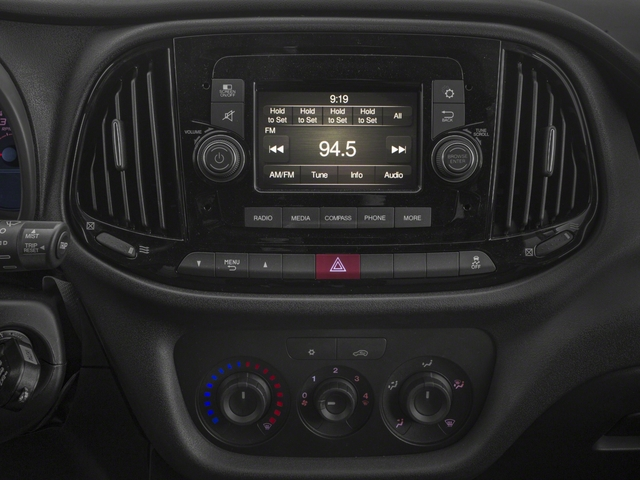 2018 Ram Truck ProMaster City Cargo Van Base Price Tradesman Van Pricing stereo system