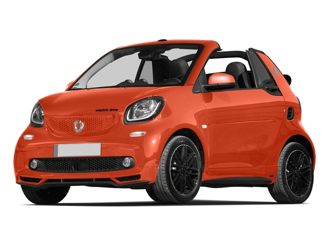 2018 smart fortwo electric drive Base Price passion cabriolet Pricing side front view