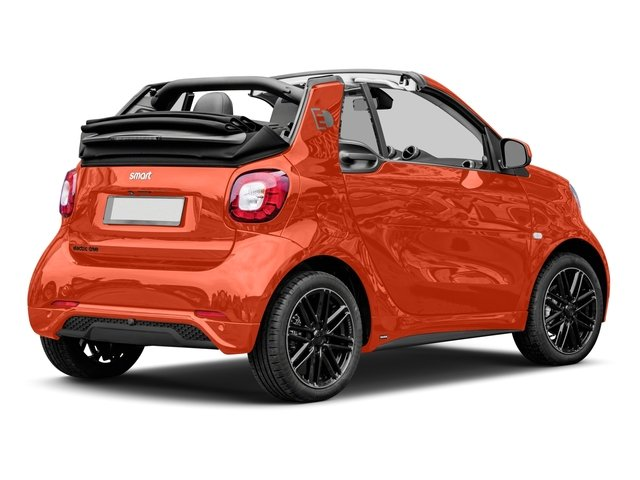 2018 smart fortwo electric drive Base Price passion cabriolet Pricing side rear view