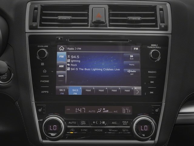 2018 Subaru Legacy Base Price 2.5i Limited Pricing stereo system