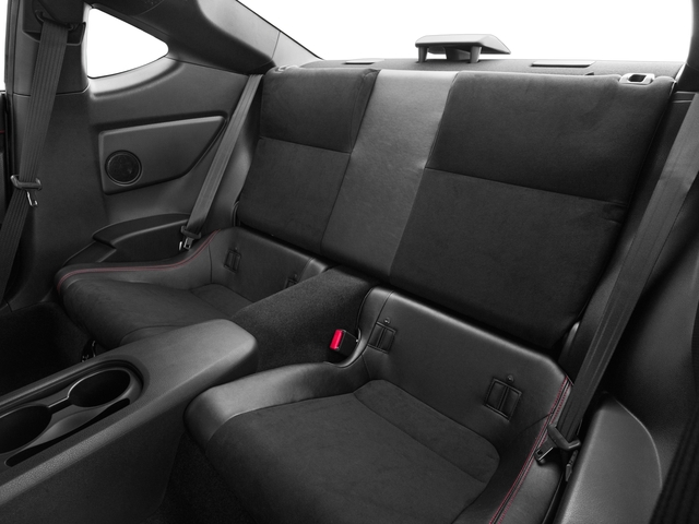 2018 Subaru BRZ Prices and Values Coupe 2D Limited H4 backseat interior