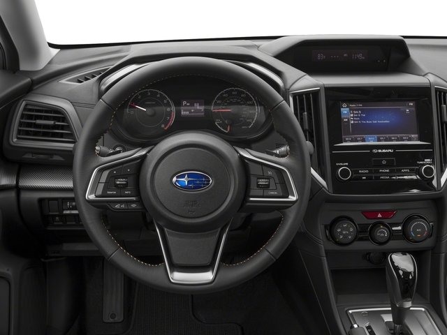 2018 Subaru Crosstrek Prices and Values Wagon 4D Premium AWD H4 driver's dashboard