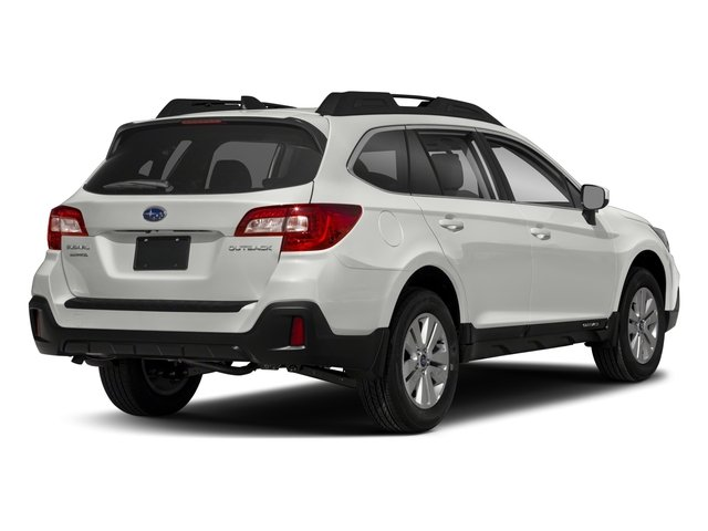 2018 Subaru Outback Base Price 2 5i Premium Pricing Side Rear View