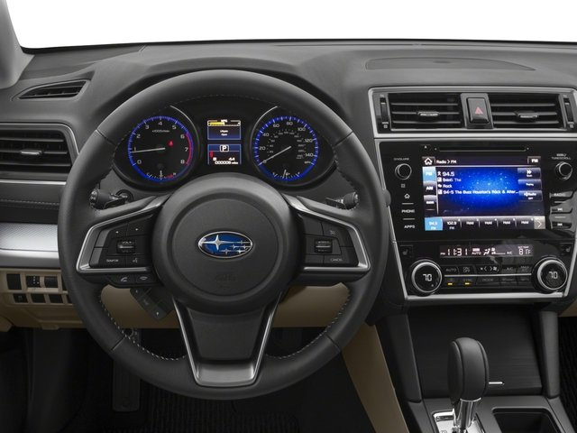 2018 Subaru Outback Base Price 2.5i Limited Pricing driver's dashboard