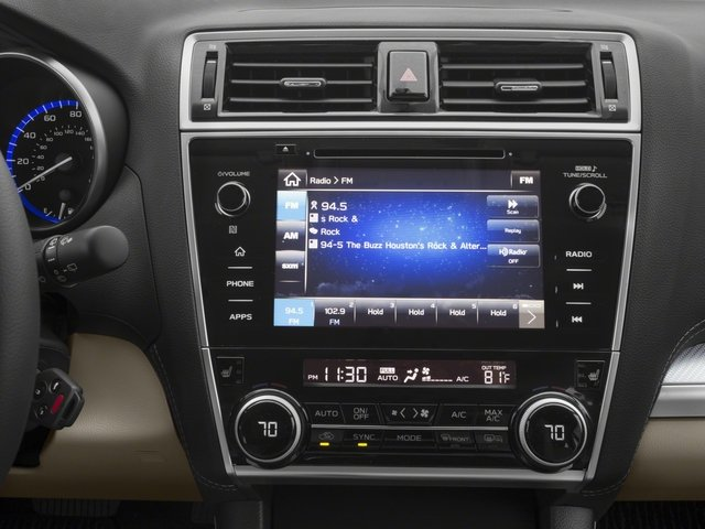 2018 Subaru Outback Base Price 2.5i Limited Pricing stereo system