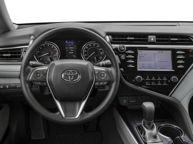 2018 Toyota Camry Prices and Values Sedan 4D LE I4 driver's dashboard