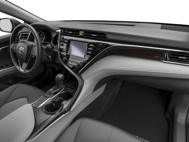 2018 Toyota Camry Prices and Values Sedan 4D LE I4 passenger's dashboard