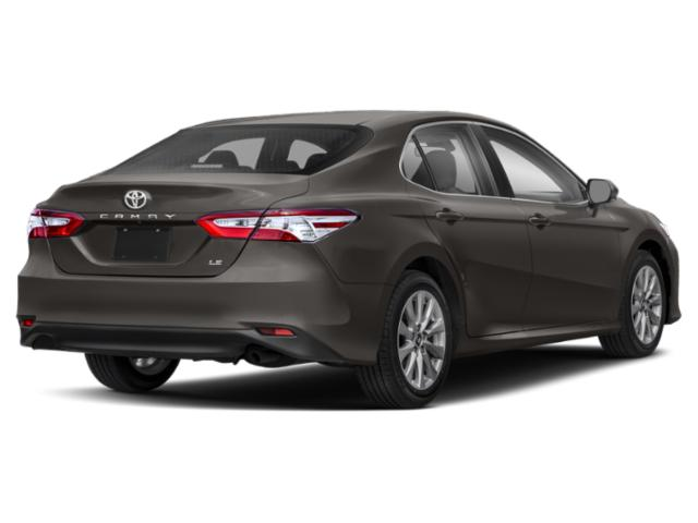 2018 Toyota Camry Prices and Values Sedan 4D LE I4 side rear view